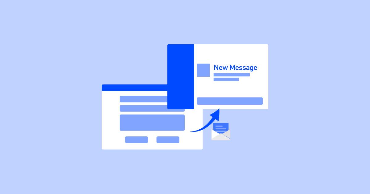 Slackへ問い合わせ送信イメージ